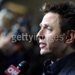 James Gunn talks to the press