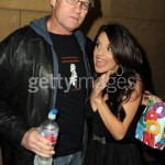 Michael Rooker with Mikaela Hoover