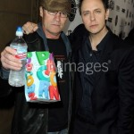Michael Rooker and James Gunn