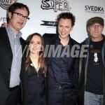 Rainn Wilson, Ellen Page, James Gunn, Michael Rooker