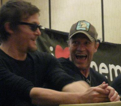 Reedus and Rooker at TFW